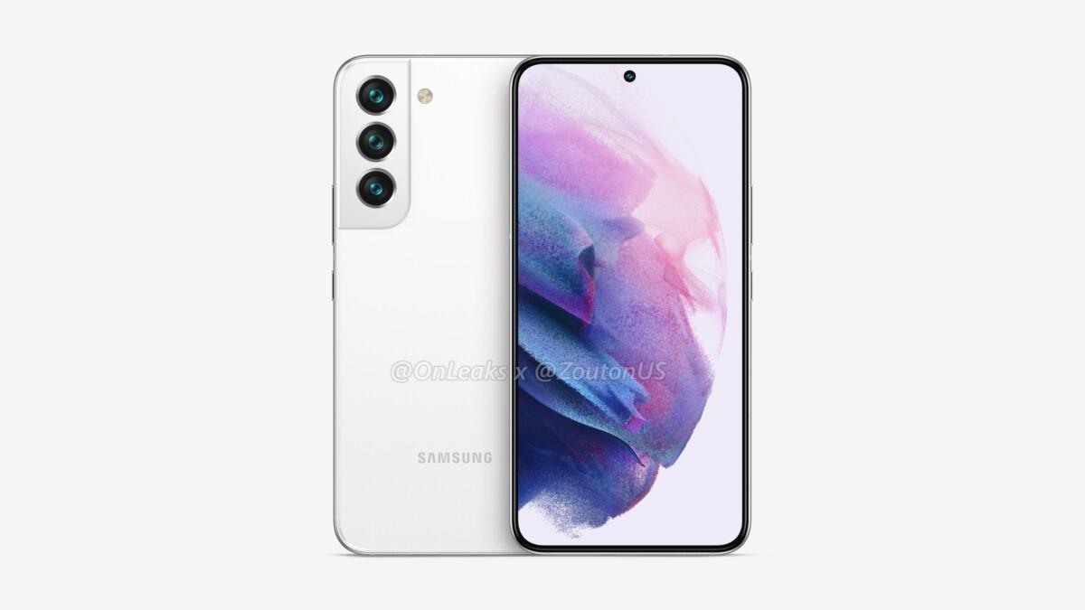 Rendu du Samsung Galaxy S22