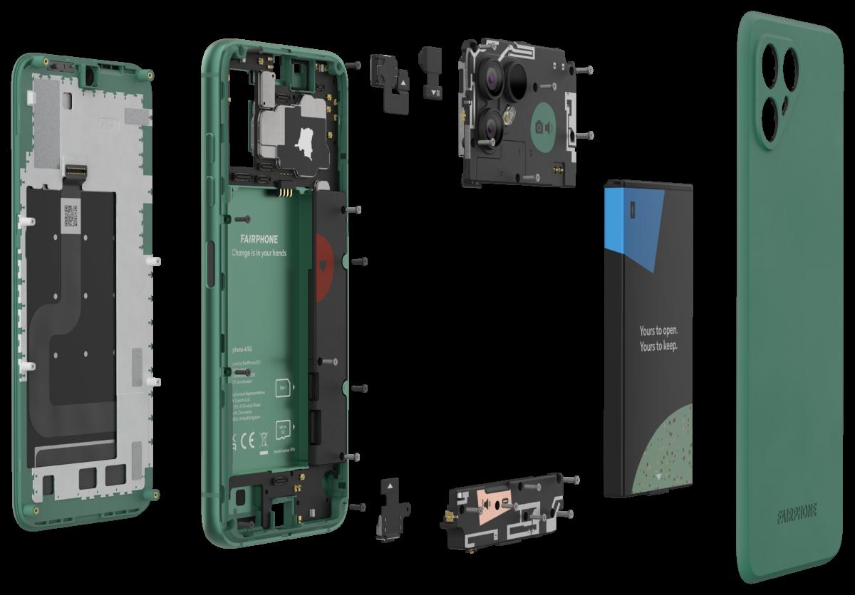 Fairphone 4 : plus cher, mais encore plus durable