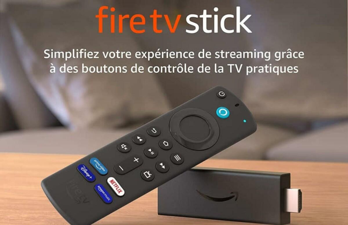 Le modèle 2021 du Fire TV Stick d'Amazon
