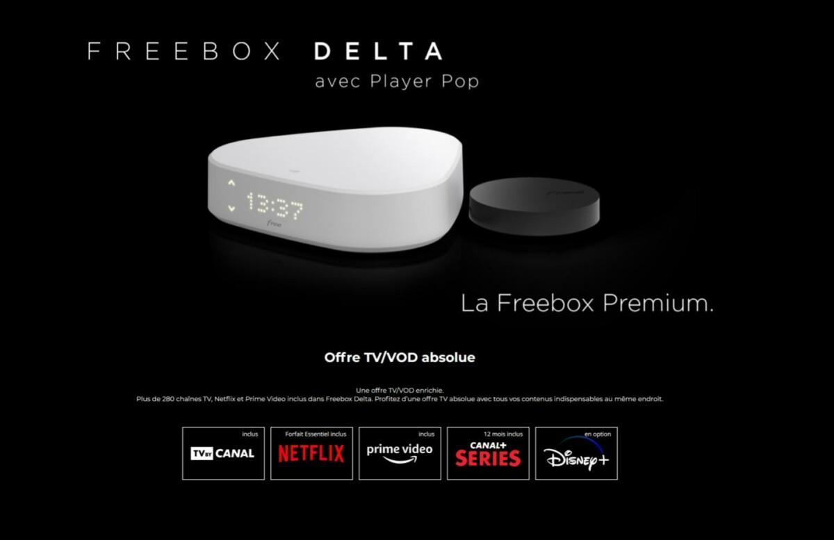 Freebox Delta : l'offre inclut désormais Netflix, Prime Vidéo et Disney+ pour le même prix