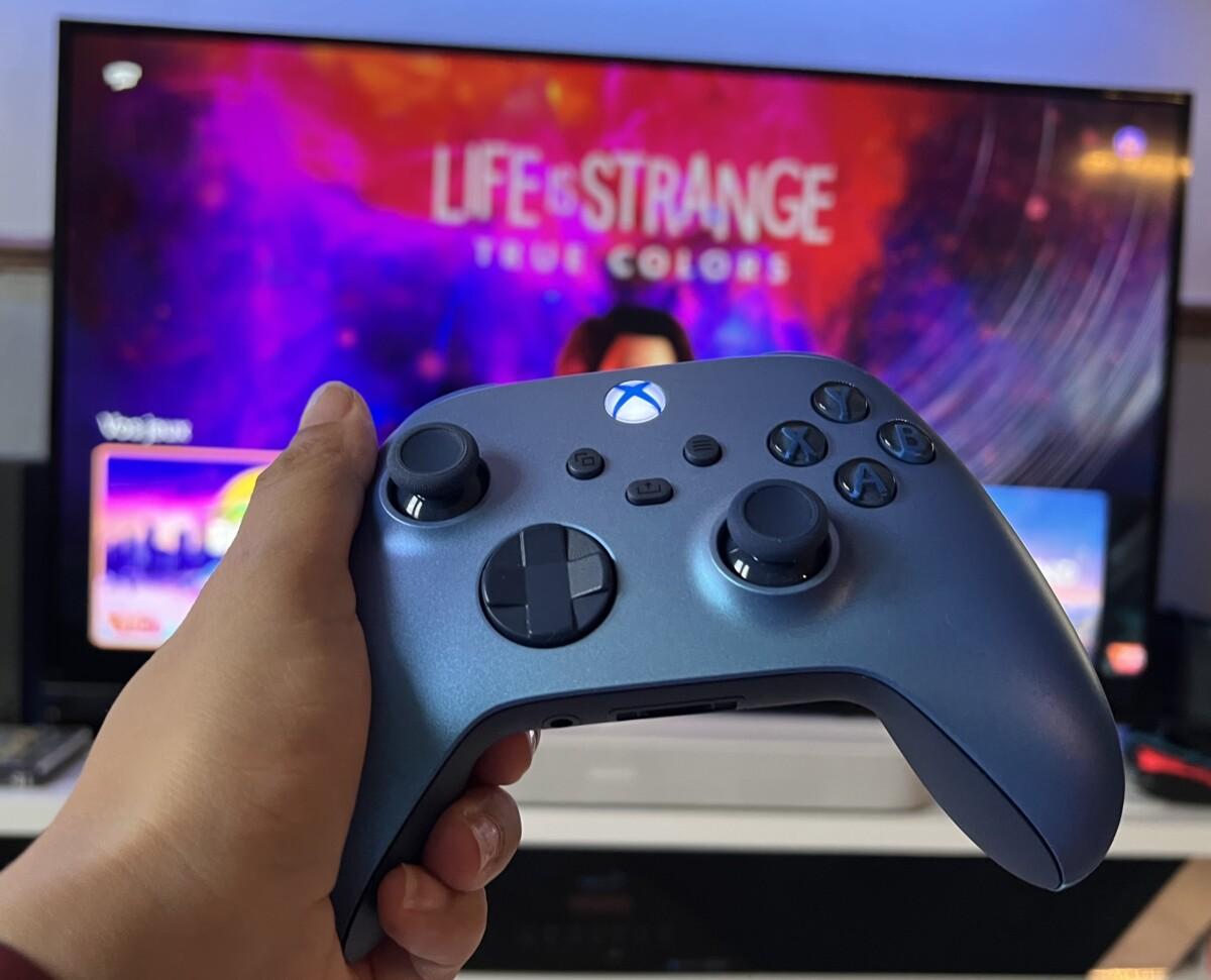 La manette Xbox Series fonctionne sans fil avec Stadia sur TV