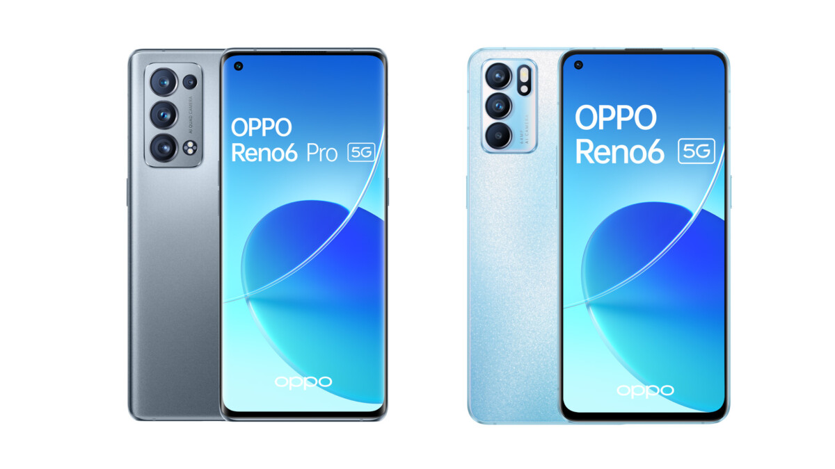 Les OPPOReno6 Pro 5G et OPPOReno6 5G