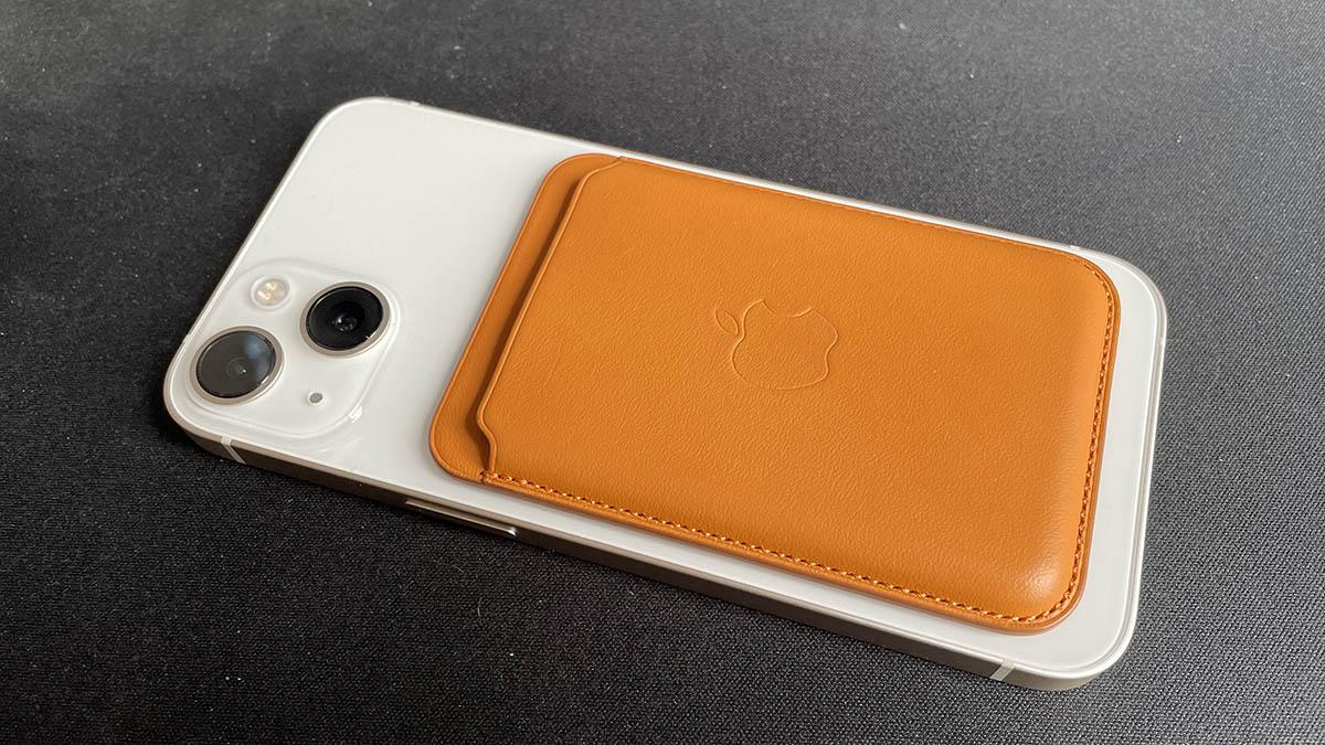 Le porte-carte d'Apple avec MagSafe et la fonction localiser