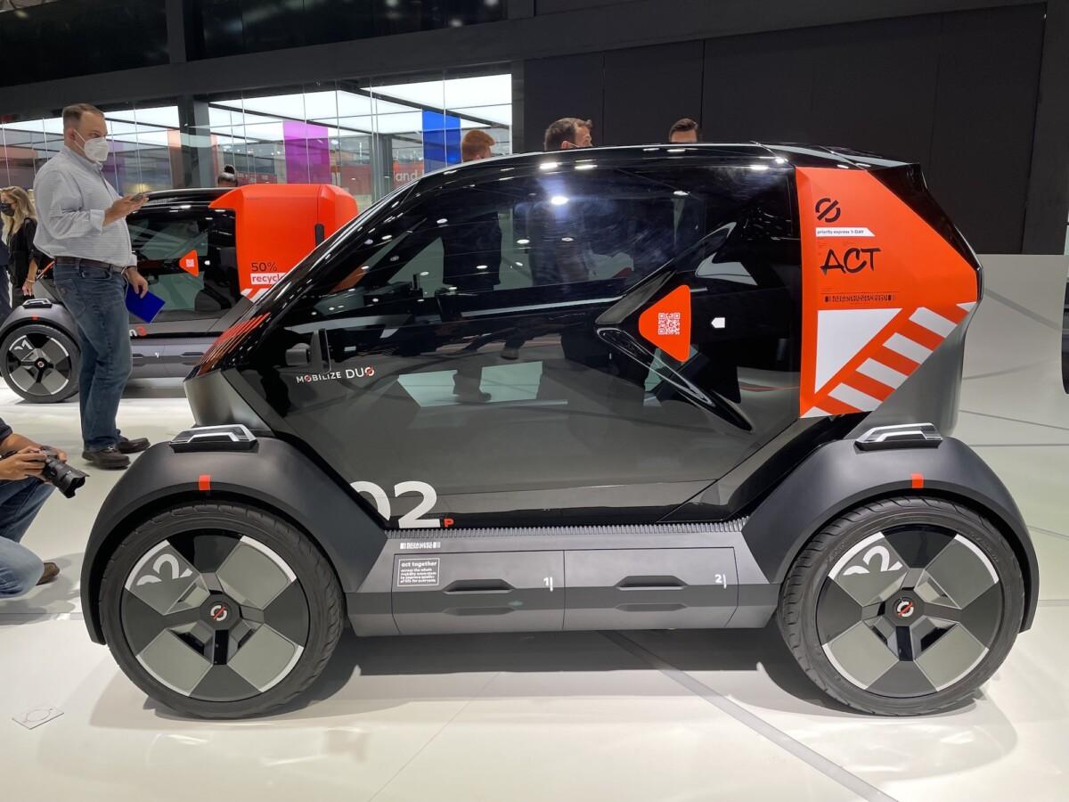 Mobilize: VTC et biplace électriques, à la découverte des futurs services Renault