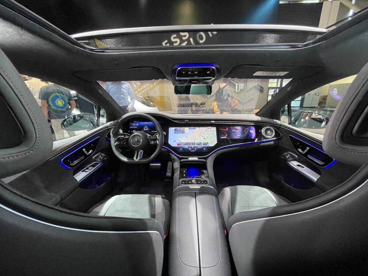Mercedes EQE: nos premières impressions à bord de l'anti-Tesla Model S
