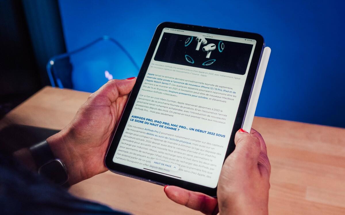 L'iPad Mini6 (2021)