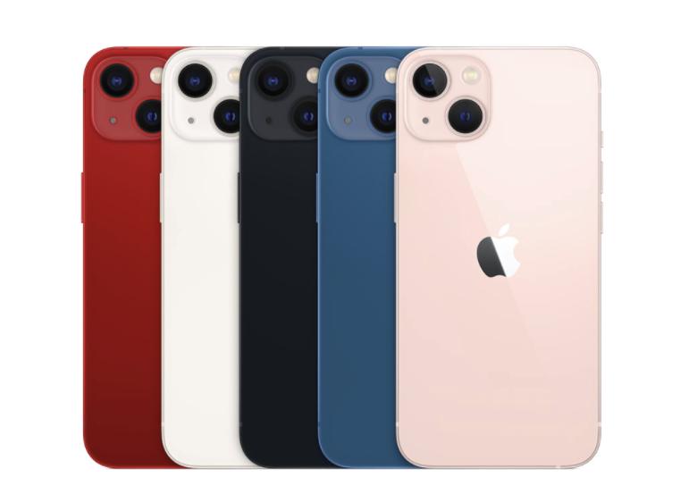 Εδώ είναι όλα τα χρώματα του iPhone 13