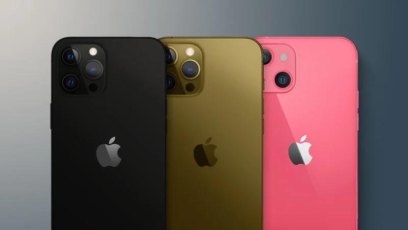 Rendu non officiel des couleurs des iPhone 13 et 13 Pro