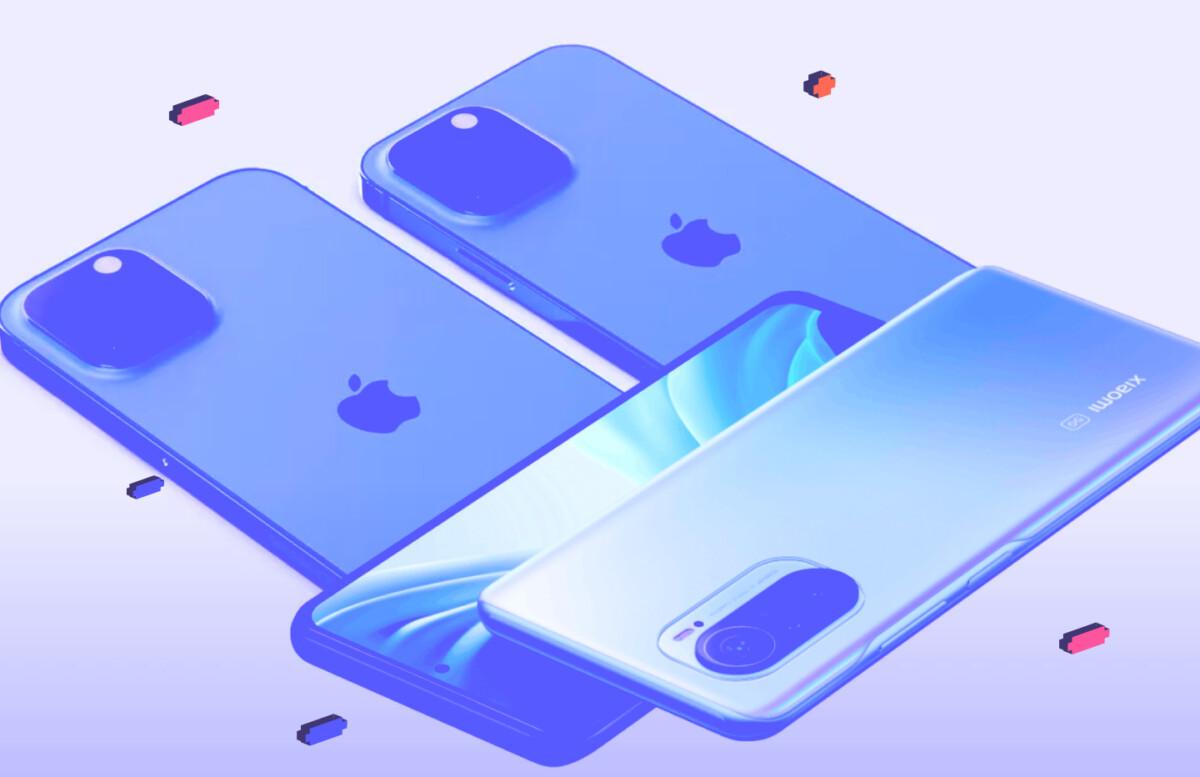 Apple iPhone 13 Pro contre Xiaomi 11T Pro, le duel de la fin d'année se dessine sans Samsung