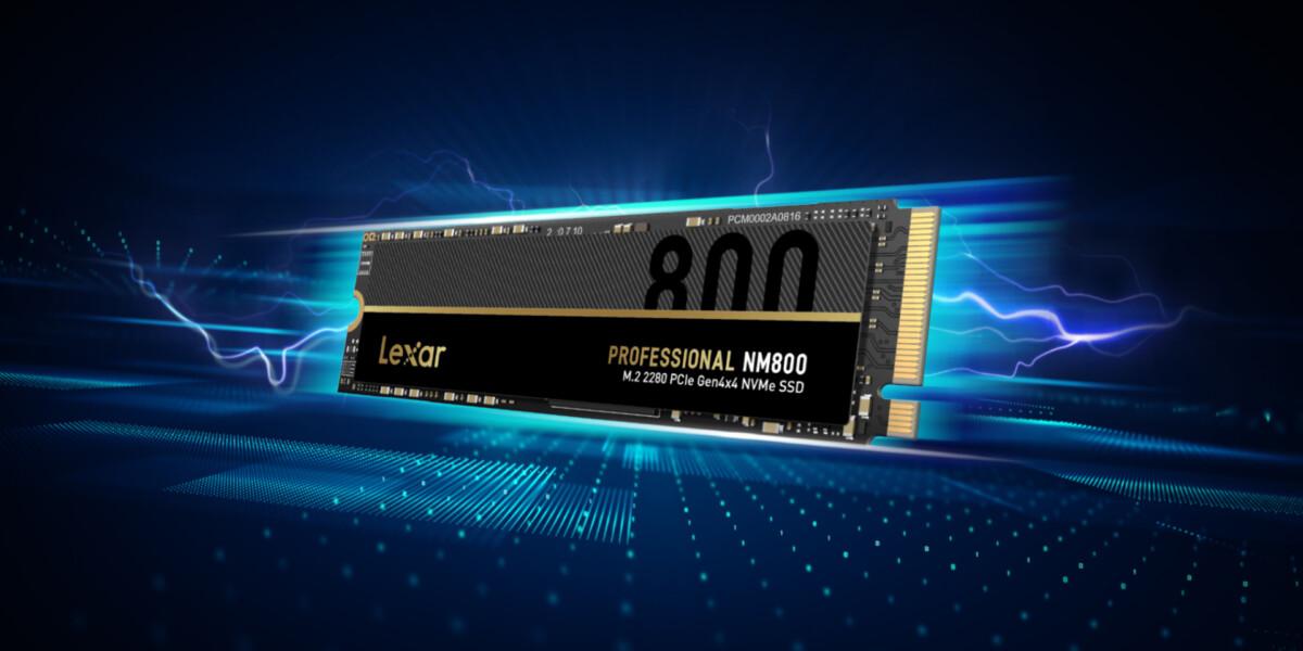 Lexar lance un SSD NVMe PCIe Gen 4 compatible PS5 à un prix très compétitif