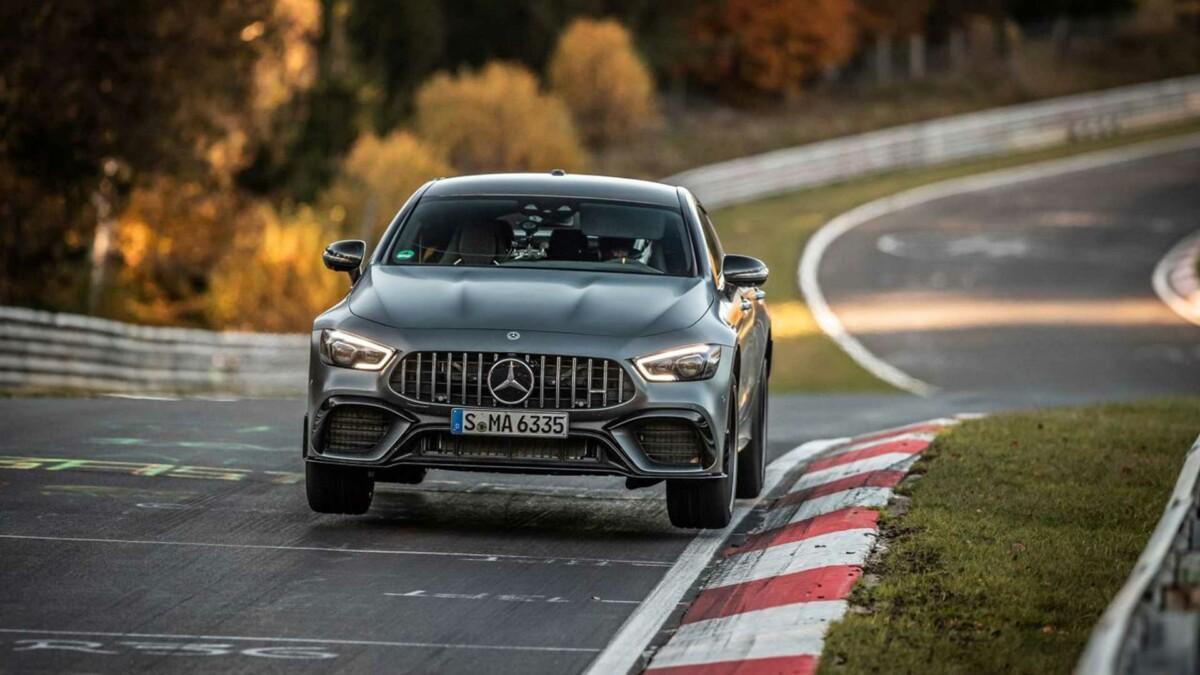 Mercedes-AMG GT 63 S Coupé 4 Portes