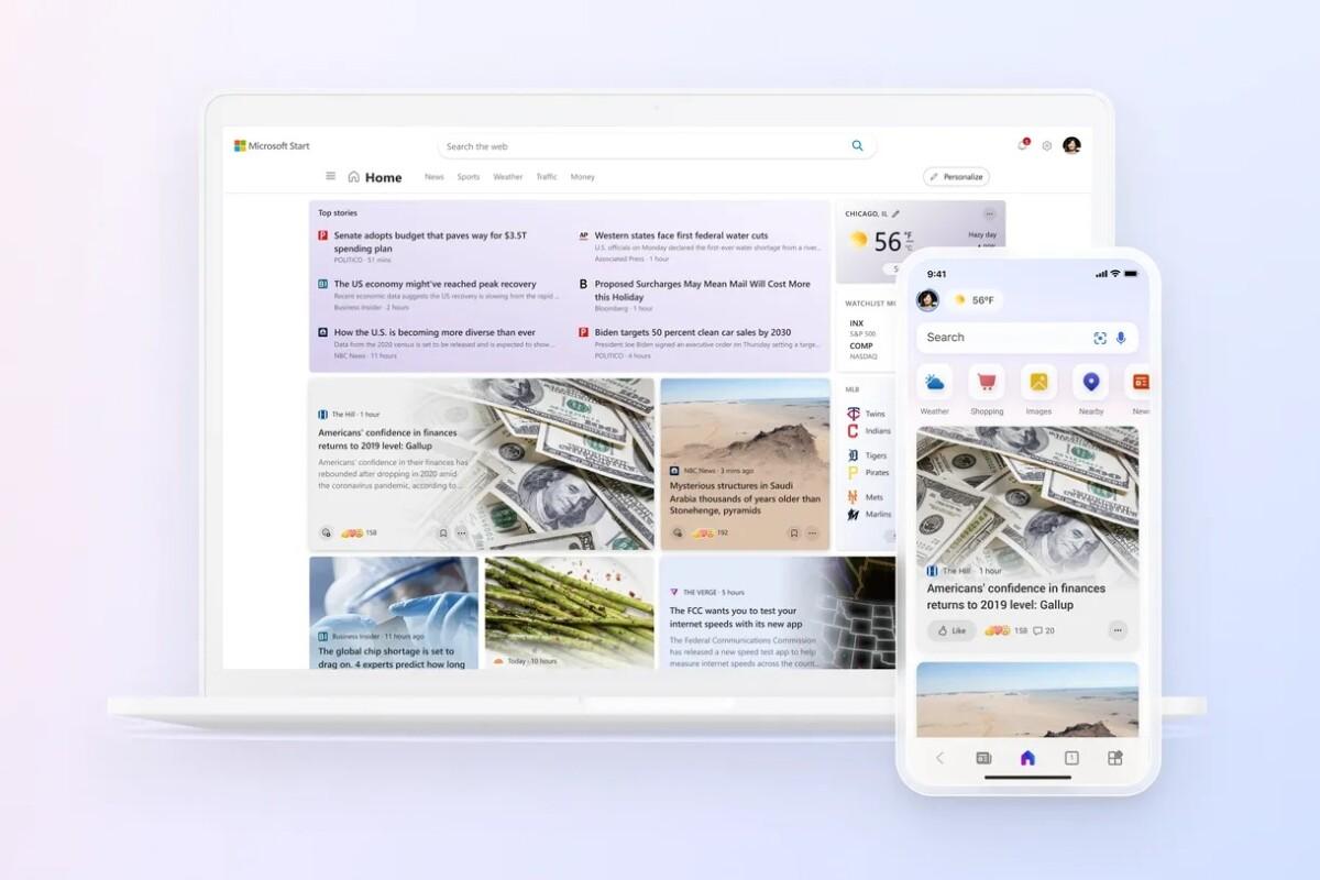 Microsoft Start : la firme veut encore devenir votre page d'accueil