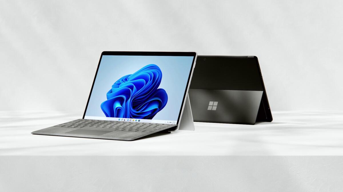 La Surface Pro 8 de Microsoft est la nouvelle Surface que l'on attendait