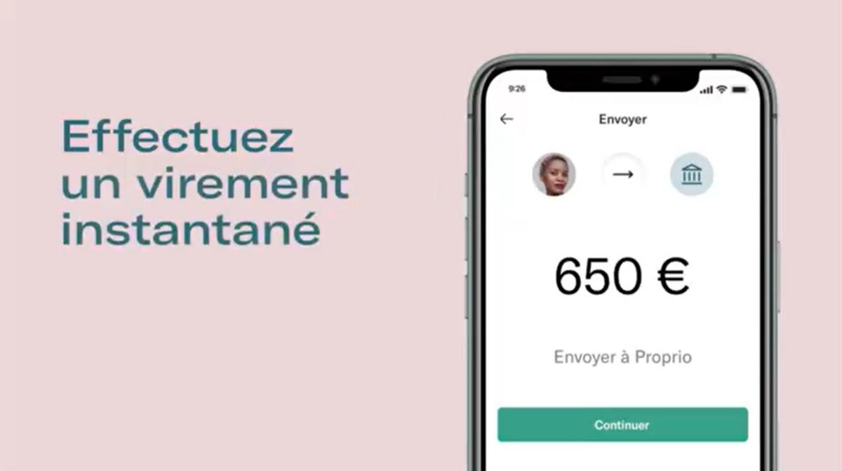 N26 permet enfin d'envoyer de l'argent instantanément vers une autre banque