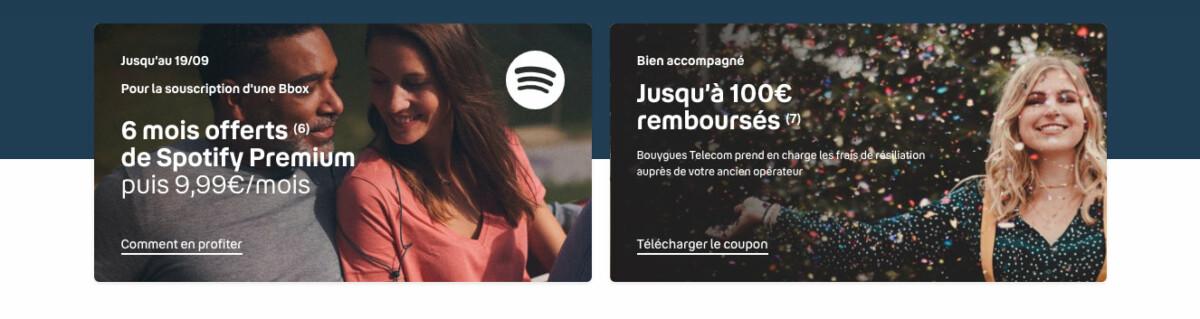 6 mois d'abonnement Spotify Premium sont également inclus dans l'abonnement