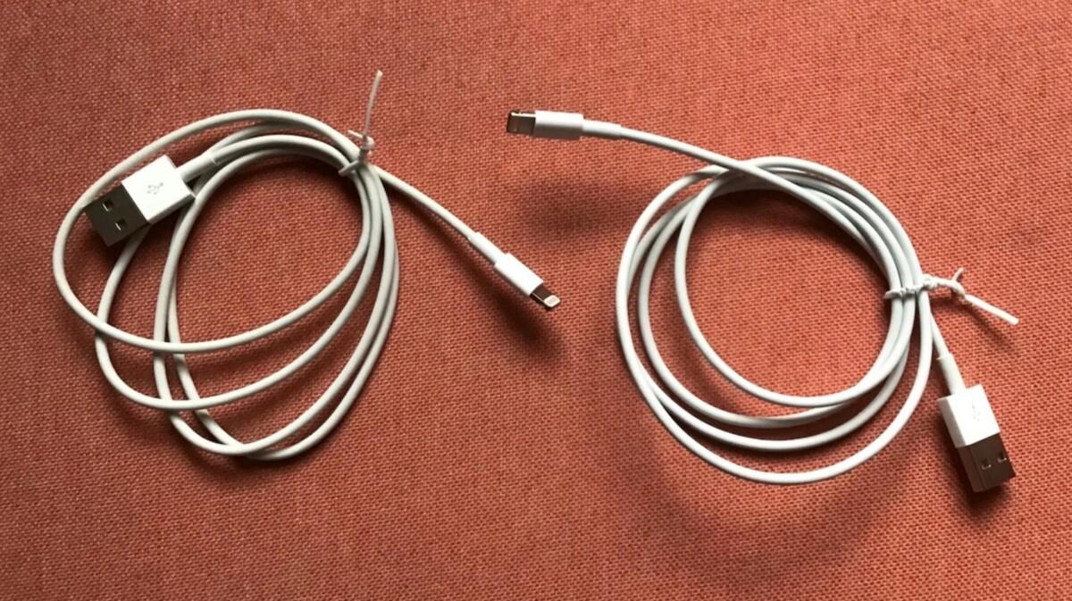 L'OMG Cable est impossible à distinguer d'un câble Lightning officiel de prime abord