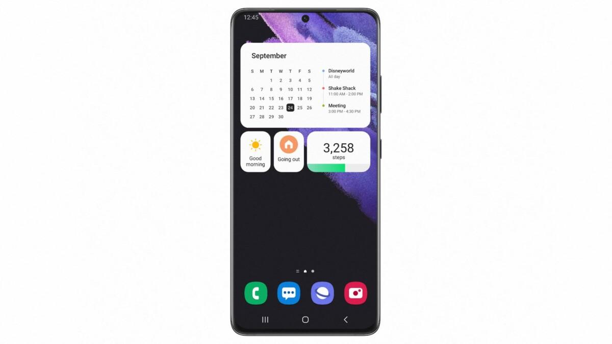 Samsung One UI 4.0 : la beta est dévoilée, voici les premières images