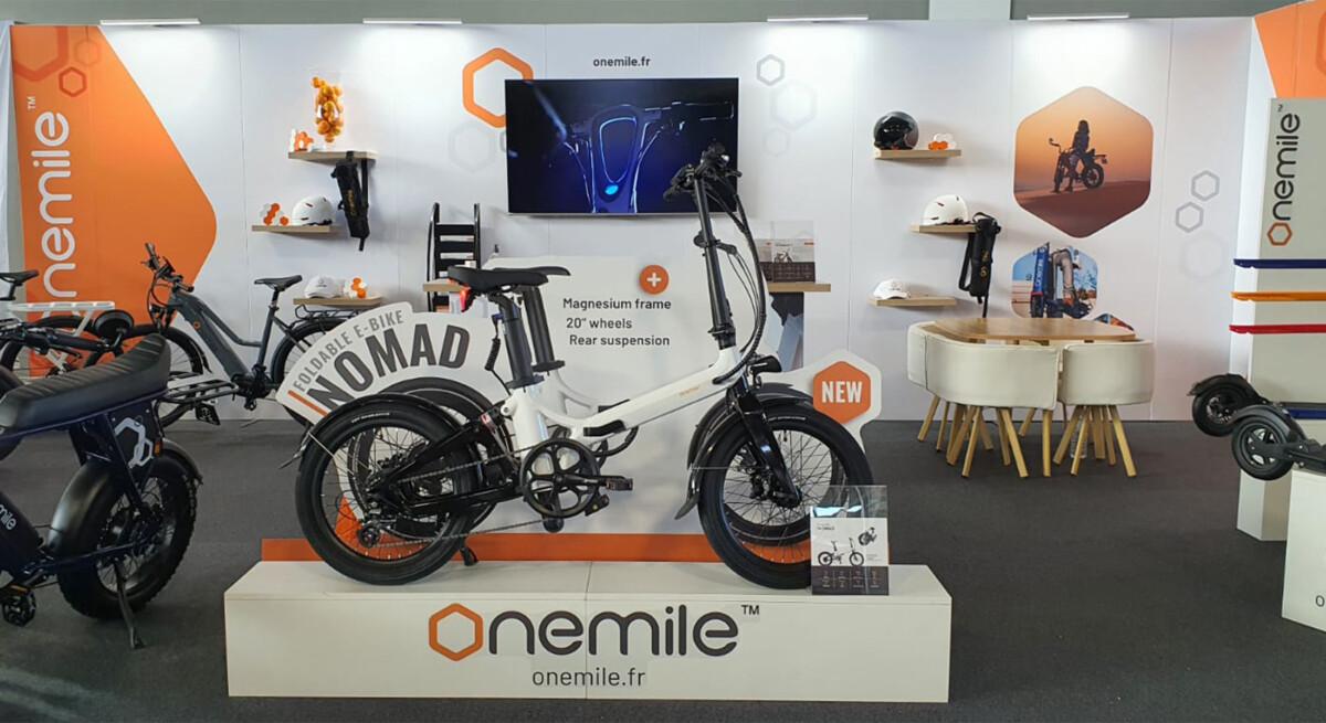 Le Nomad est présenté pour la première fois sur le salon Eurobike / Source : OneMile