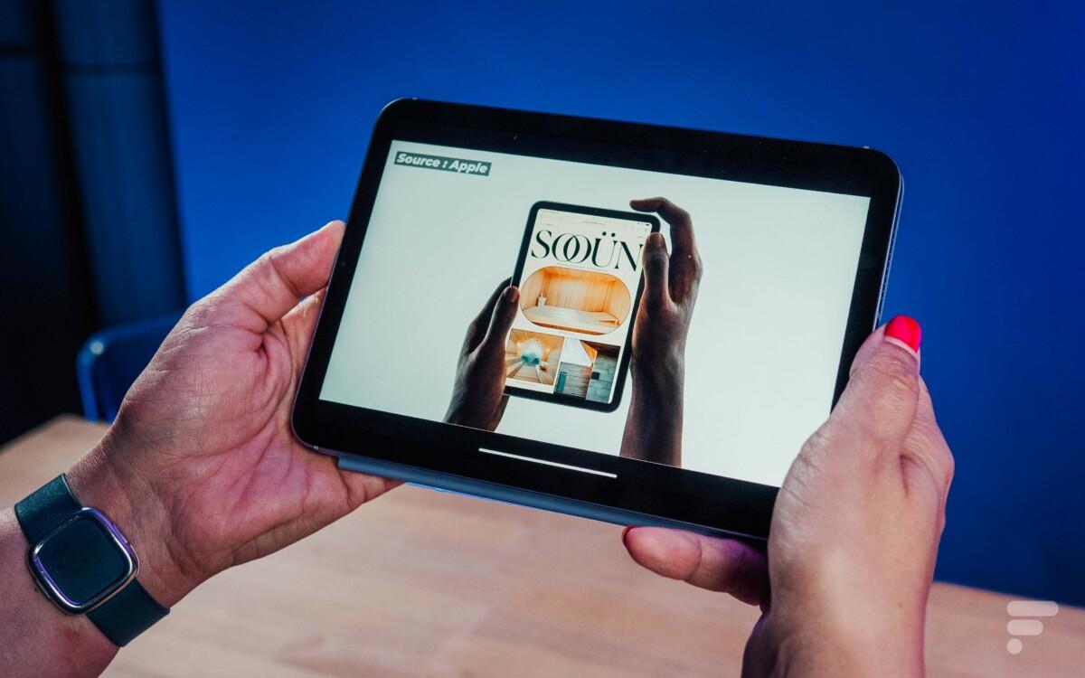 La vidéo conserve parfois ses bords noirs pour passer en format 16:9 sur iPad mini
