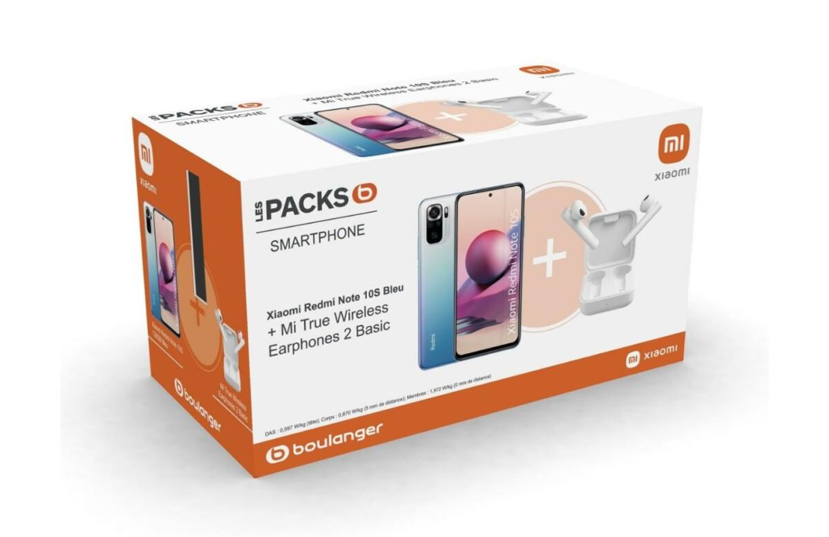 Le pack smartphone + écouteurs sans fil