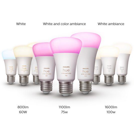 La gamme d'ampoules intelligentes Philips Hue prend de la puissance