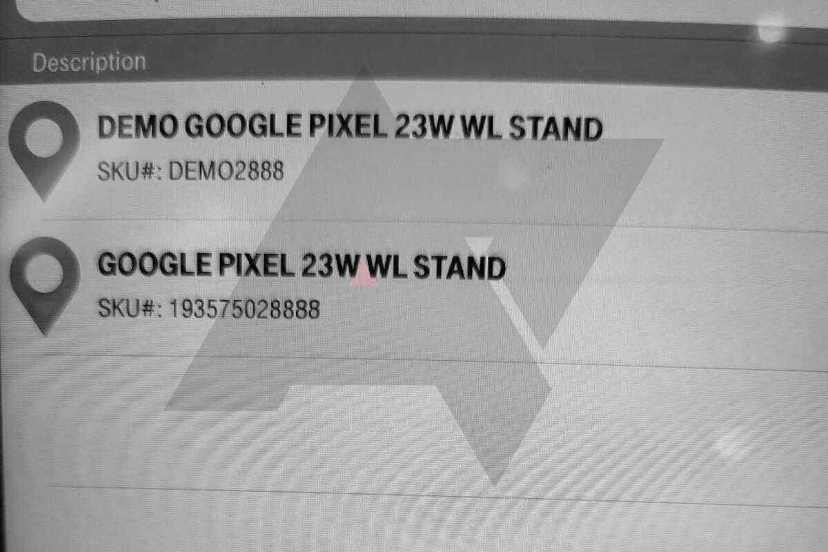 Possible description d'une borne de recharge sans fil 23W pour le Pixel6.