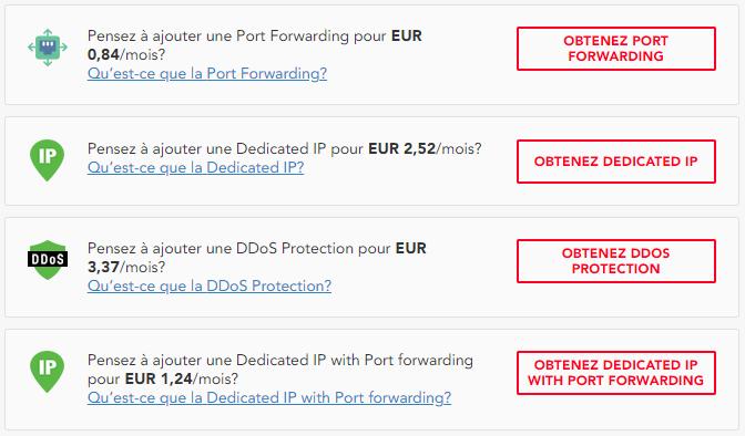 PureVPN est l'un des rares fournisseurs de VPN à proposer la redirection de port en option en plus de son abonnement.