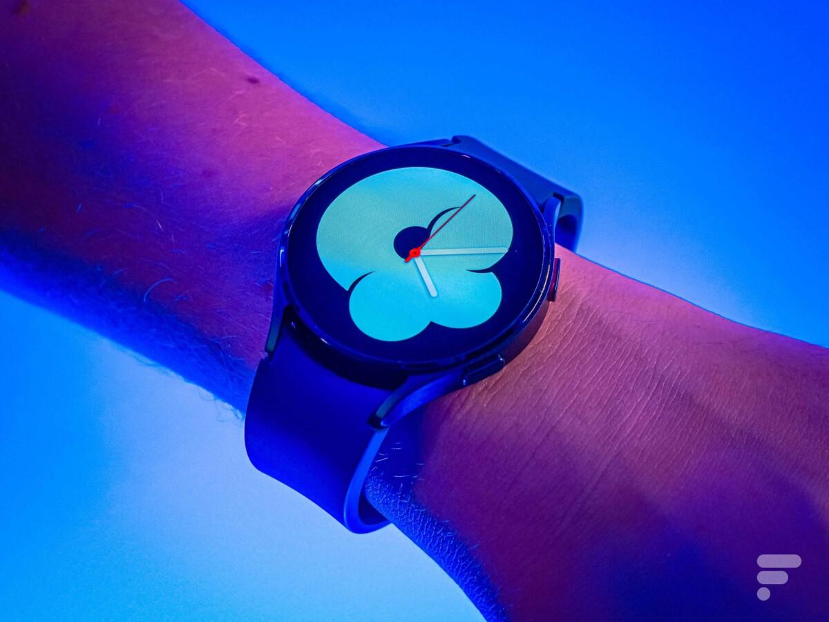 La nouvelle Galaxy Watch4 de Samsung, pour illustration