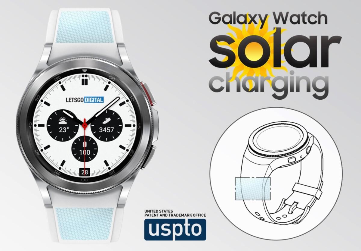 Samsung travaillerait sur un projet de montre connectée alimentée par l'énergie solaire