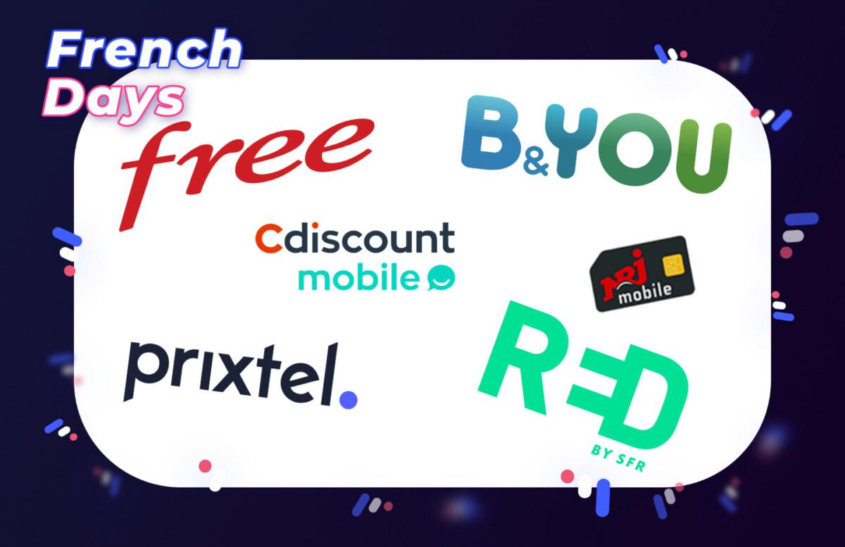 Forfait mobiles : les meilleures offres disponibles pendant les French Days