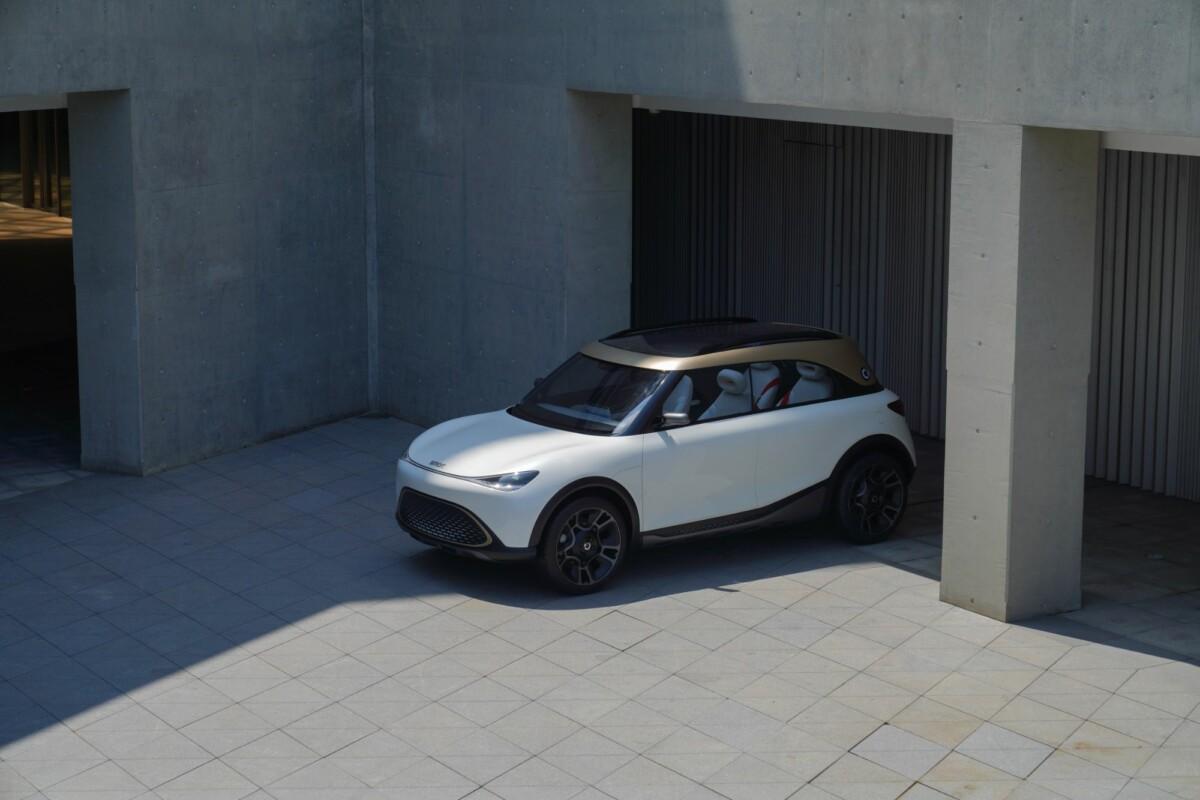 Smart Concept #1 : cette sublime Smart électrique se la joue futuriste