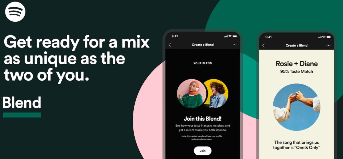 Spotify vous invite à partager des playlists automatiques aux goûts de vos proches