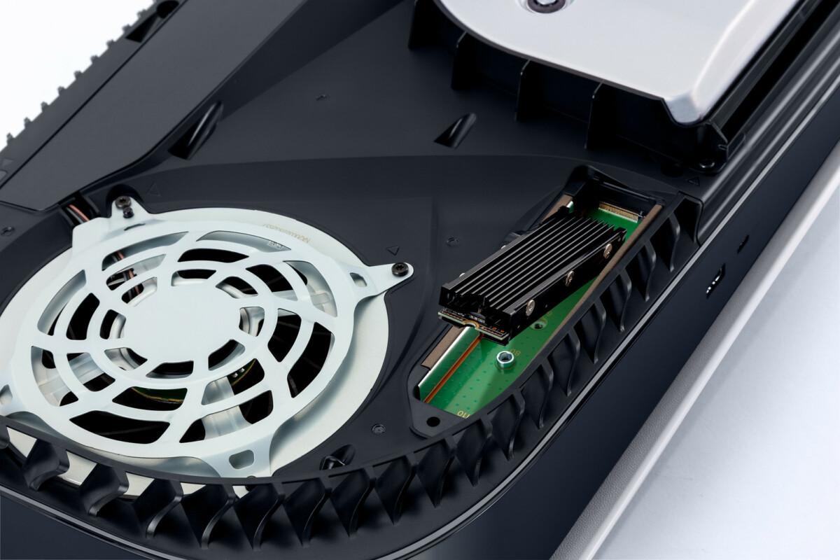 Le port pour ajouter un disque SSD M.2 est désormais opérationnel