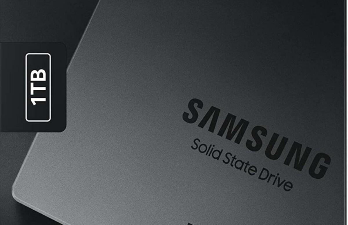 L'excellent SSD Samsung 870 QVO 1 To est de retour à un super prix : 79,99 €