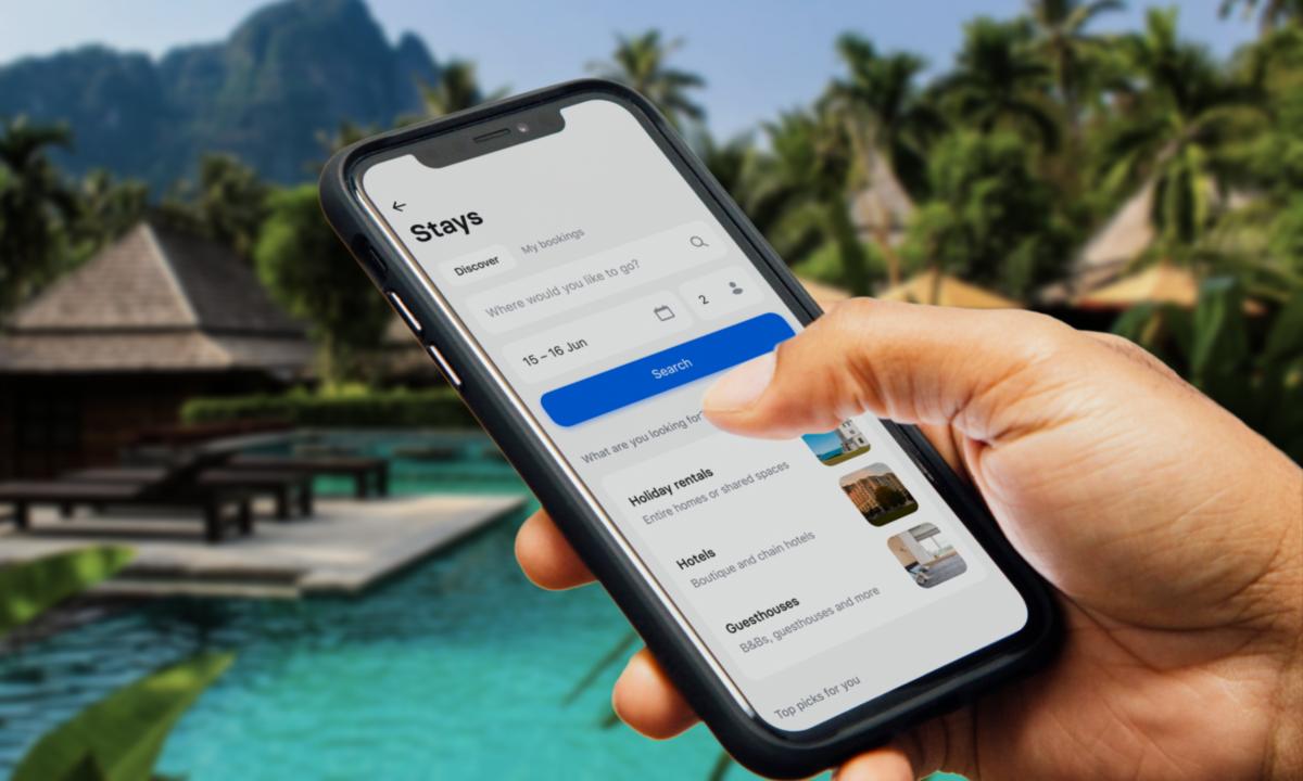 Avec Stays, Revolut permet de réserver un hôtel et d'obtenir du cashback depuis l'application
