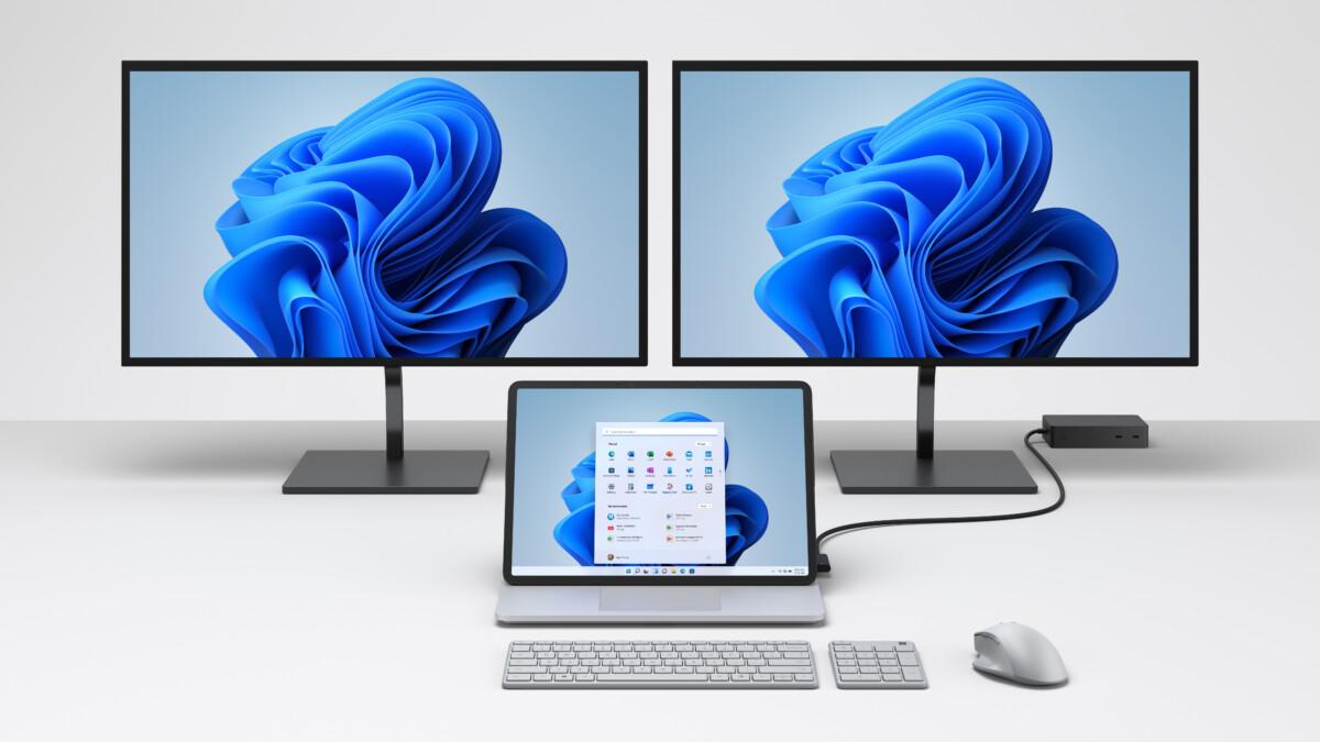 Surface Laptop Studio baru terhubung ke layar 4K