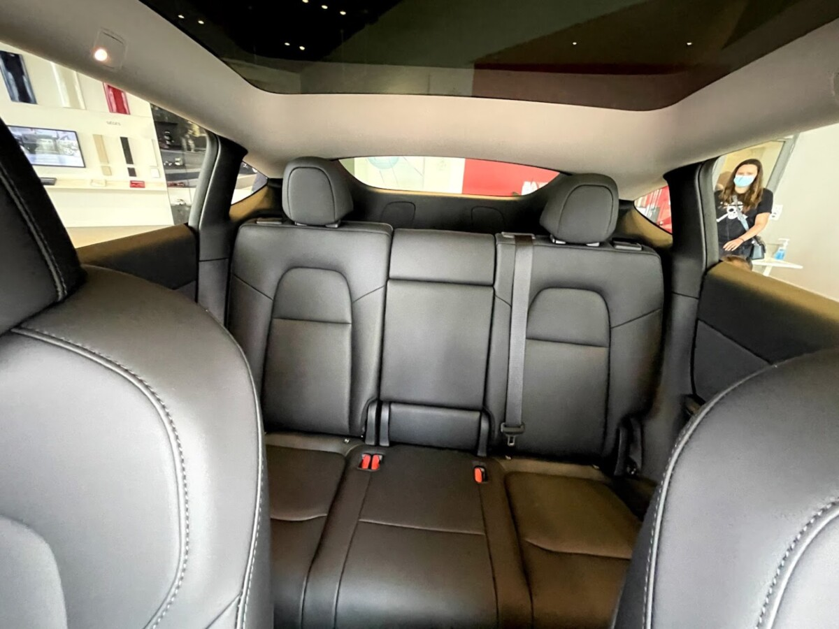 Seats in the back