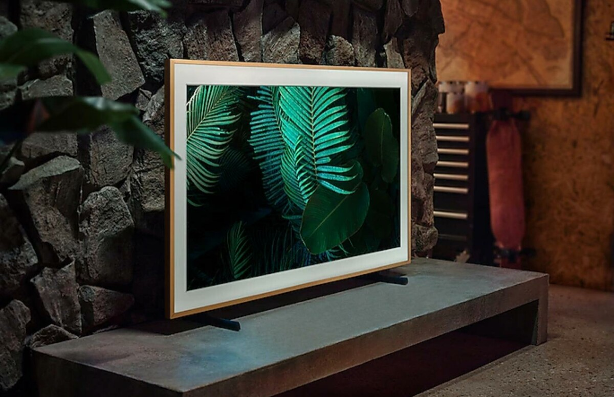 Samsung The Frame modèle 2021.