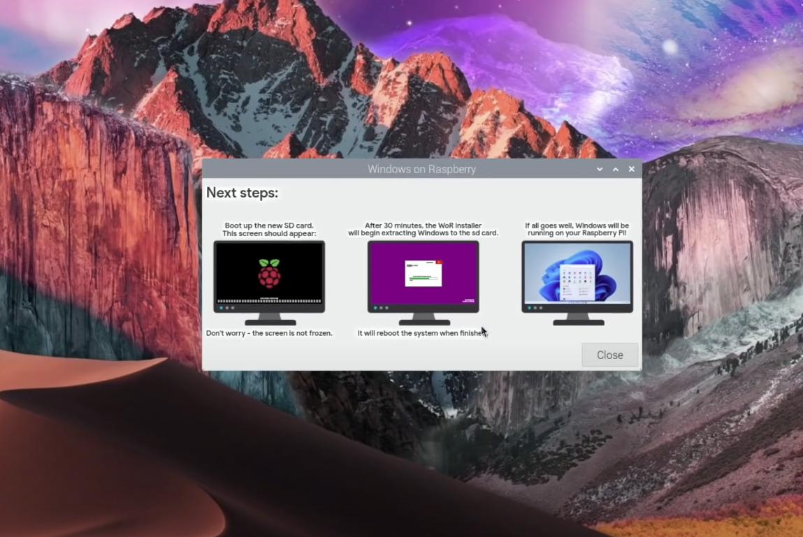 Comment installer Windows 11 sur un Raspberry Pi 4 ?
