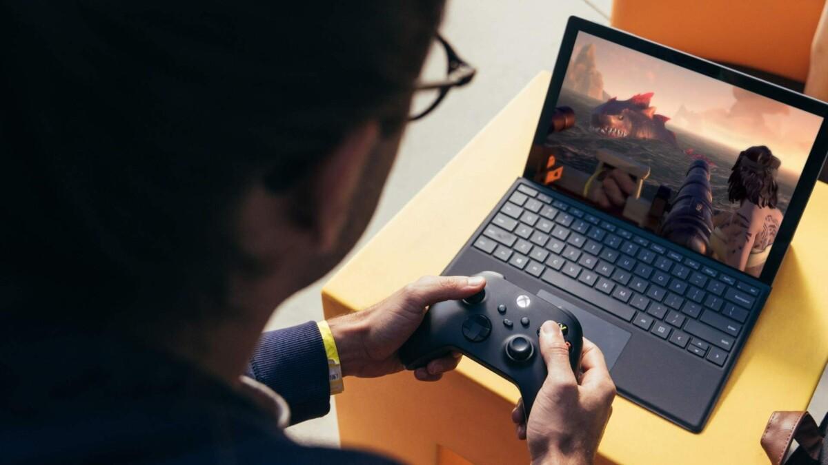 L'application Xbox sur Windows