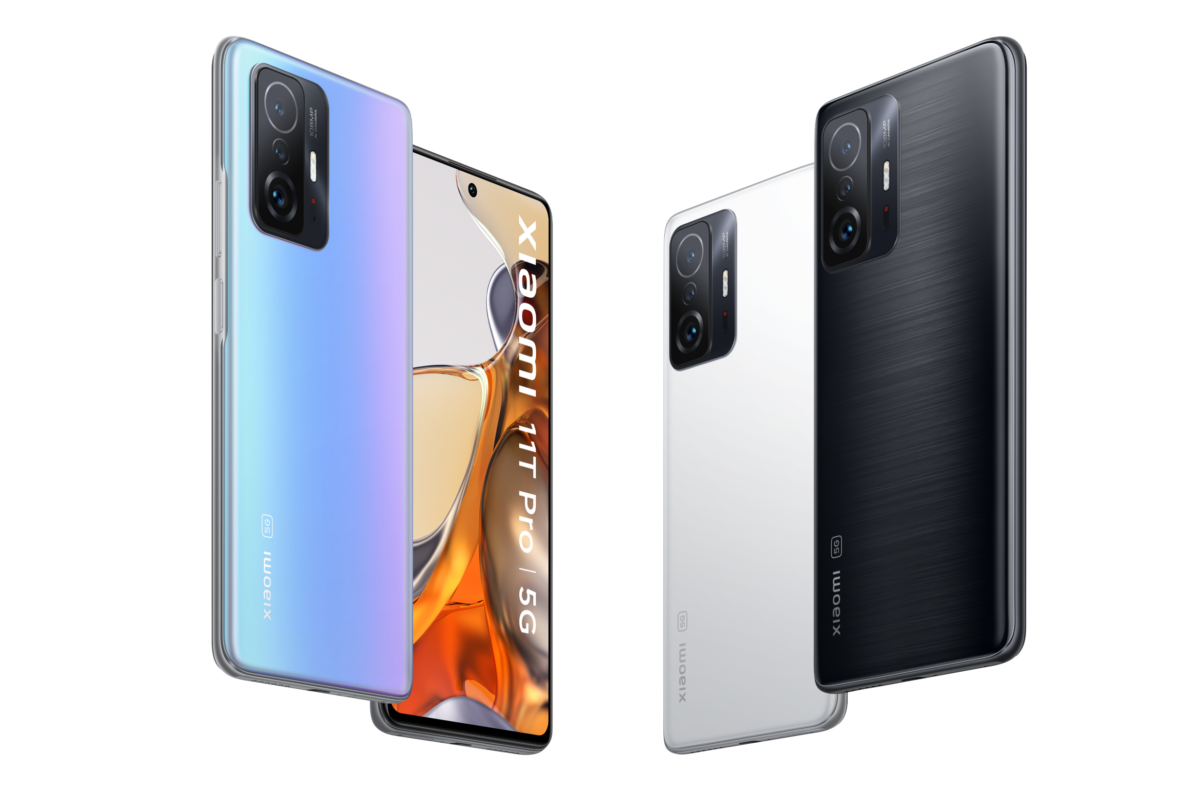 The Xiaomi 11T and 11T Pro.
