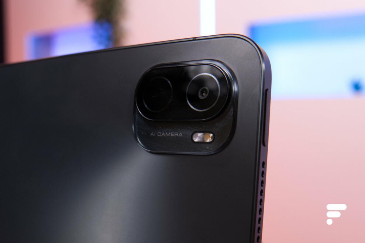 L'appareil photo de la Xiaomi Pad 5