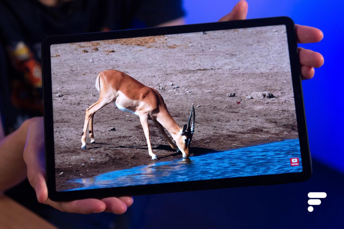 L'écran de la Xiaomi Pad 5