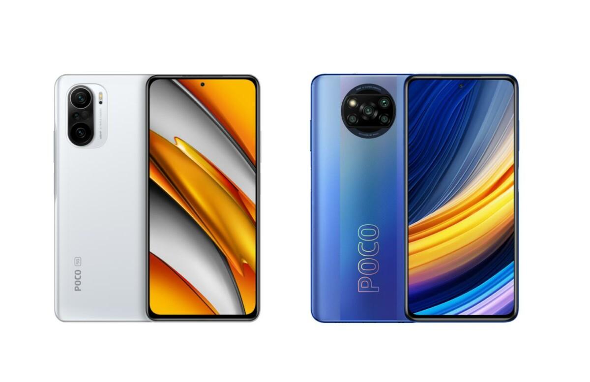 Les prix des Poco F3 et X3 Pro sont en baisse sur la boutique de Xiaomi