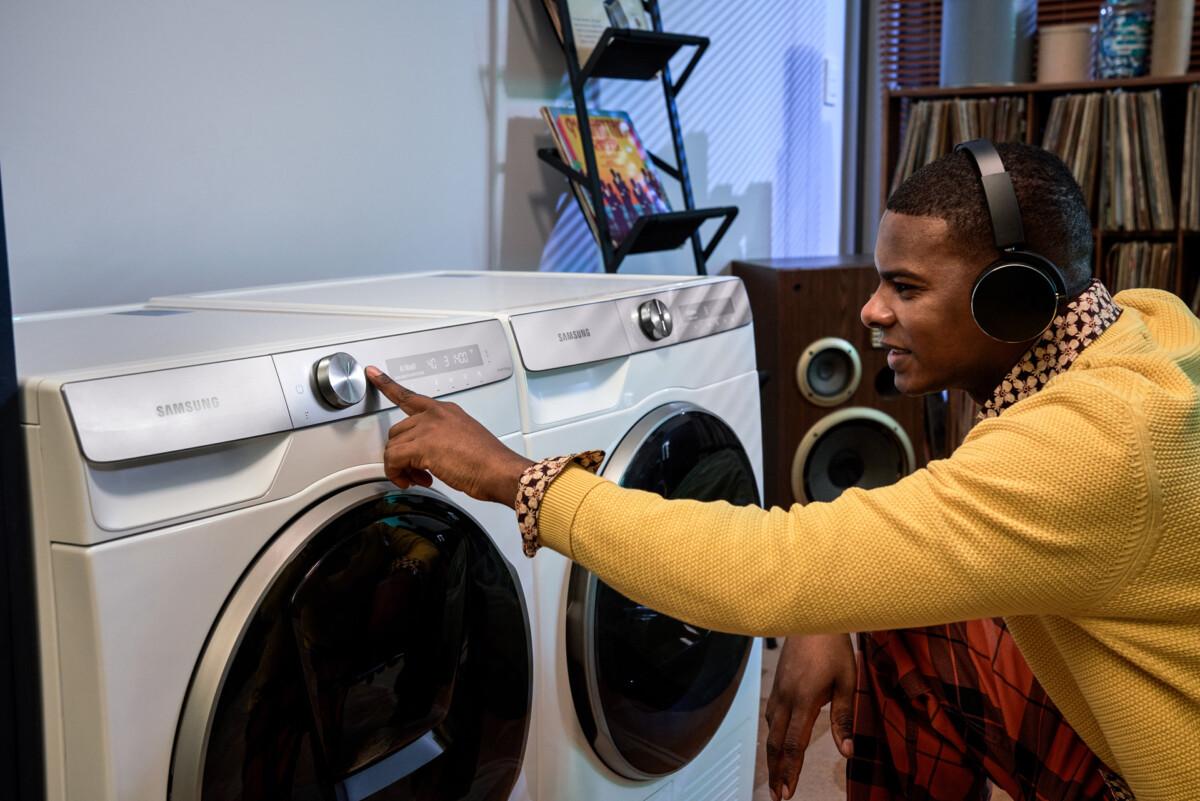 Lave-linge connecté : comment Samsung les a rendu plus intelligent avec l'application SmartThings