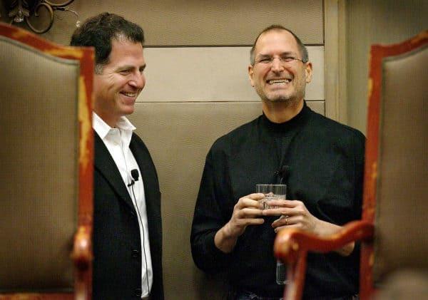 Michael Dell et Steve Jobs