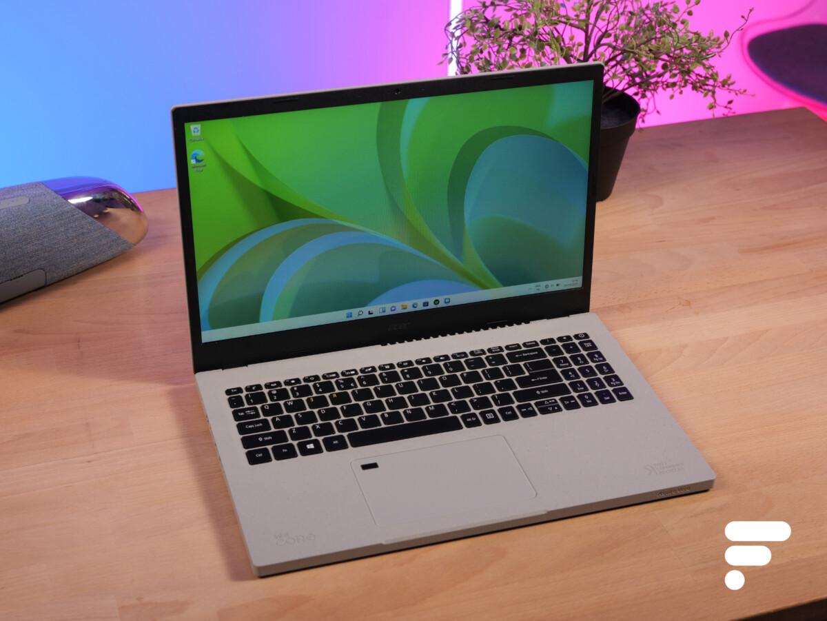L'Acer Aspire Vero se veut PC écoresponsable : nous l'avons essayé
