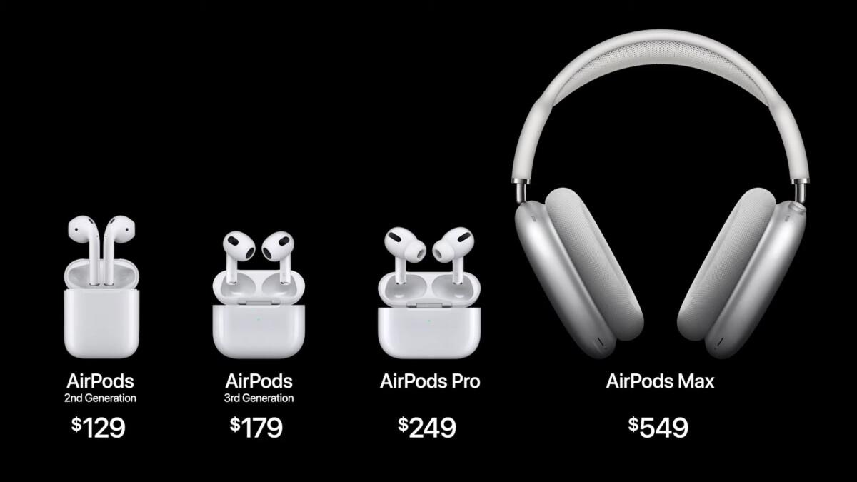 AirPods 3 : Apple lance ses nouveaux écouteurs sans fil avec un nouveau design inspiré des Pro