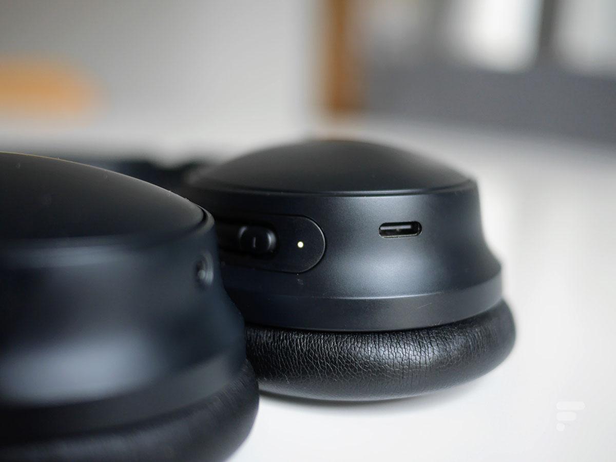 La prise USB-C du Bose QC45