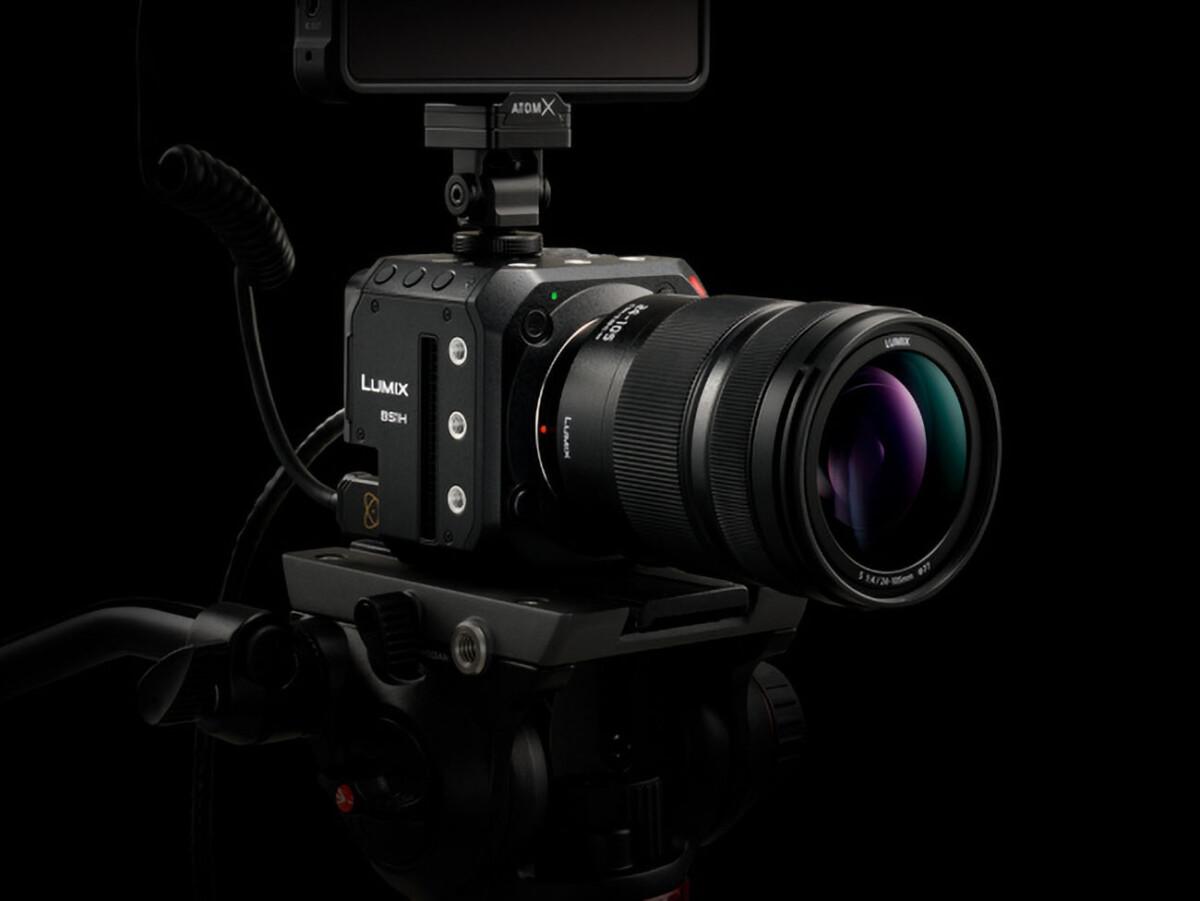 La caméra Panasonic Lumix BS1H